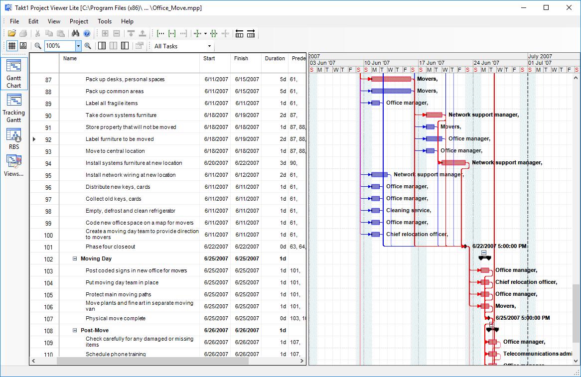 Project Viewer Lite full screenshot
